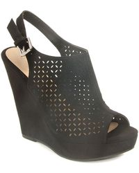 Chinese Laundry - Perforated Platform Sandal - Lyst