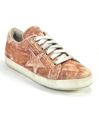 275 Central - Velvet Star Sneaker - Lyst