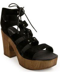 J/Slides - Tie Sandal - Lyst