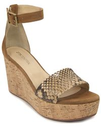 275 Central - Python Printed Wedge - Lyst