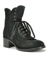 275 Central - Suede Lug Sole Ankle Boot - Lyst