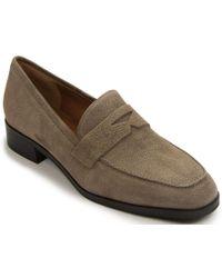 Aquatalia - Heeled Loafer - Lyst