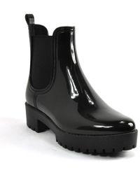 Jeffrey Campbell - Shiny Rain Bootie - Lyst