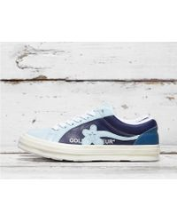 8c7528528e0e54 Converse X Golf Le Fleur Two Tone One Star Ox Sneakers In Pink ...