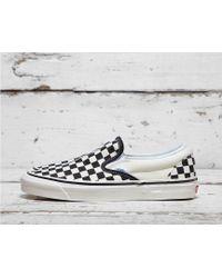 Vans - Anaheim Slip-on Checkerboard - Lyst