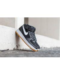 Lyst Nike Air Force 1 Mid ́07 Black/ White gum Medium Brown for Men