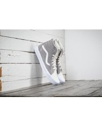 Vans - Sk8-hi Reissue Lite (two-tone) Frost Gray/ Marshmallow - Lyst