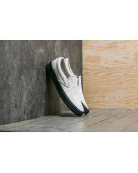 5619f569b21 Vans - Classic Slip-on (crepe) Cement  Black - Lyst