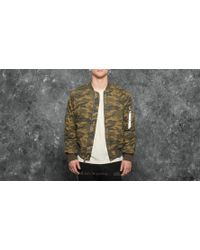 Stampd | Camo Washed Bomber Camo | Lyst