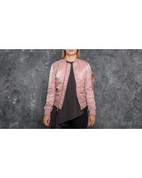 Footshop - Alpha Industries Ma-1 Vf Pm Wmn Silver Pink - Lyst