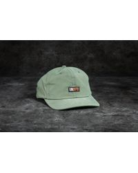 Footshop - Undefeated Label Cap Olive - Lyst