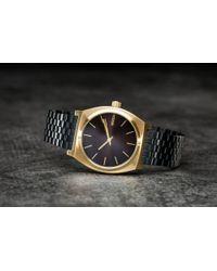 Footshop - Nixon Time Teller Gold/ Black Sunray - Lyst