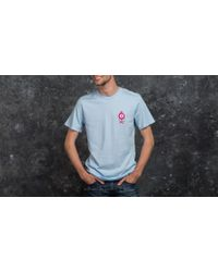 Huf - X Pink Panther Shortsleeve Pink Ball Tee Washed Light Blue - Lyst