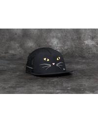 72af0c51faa Lyst - Vans Lawn Party Womens Trucker Hat in Black
