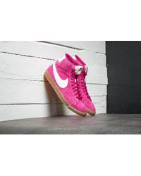 Lyst Nike Wmns  Blazer Mid Suede Vintage Sport Fuchsia  Wmns Vela Vela e04cda