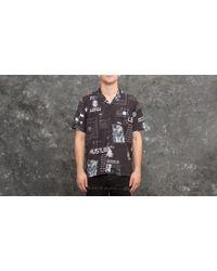 Footshop - 40s & Shorties X Hustler Lifetime Shirt Black Print - Lyst