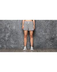 Stussy | Puff Stock Gym Short Grey Heather | Lyst