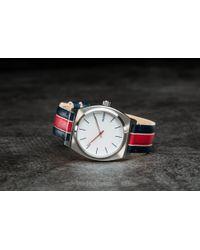 Footshop - Nixon Time Teller White/ Stripes - Lyst