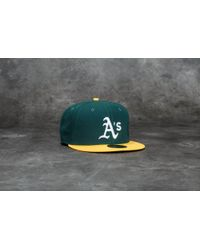 KTZ - 59fifty Acperf Oakland Athletics Cap Green - Lyst