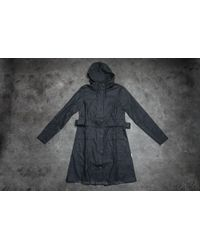 Footshop - Rains Curve Jacket Black - Lyst