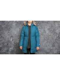 Footshop - The North Face W Arctic Parka Prussian Blue - Lyst