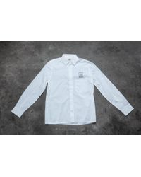 Footshop - Cheap Monday Squared Shirt White - Lyst