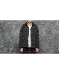 Footshop - Urban Classics Hooded Puffer Jacket Black - Lyst