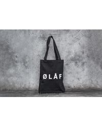 Footshop - Olaf Hussein Ølåf Tote Bag Black - Lyst