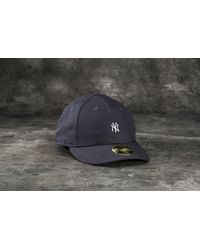 10e5c16c ... czech ktz 59fifty low profile mini logo new york yankees cap navy lyst  88ba1 e3bce