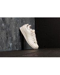 3146f0512d3b adidas Originals - Adidas Stan Smith Chalk White  Chalk White  Chalk Pearl  - Lyst