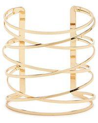 Forever 21 - Crisscross Bracelet Cuff - Lyst