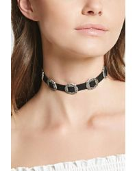 Forever 21 - Etched Western Choker - Lyst