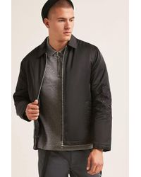 Forever 21 | Embroidered Zip-front Jacket | Lyst