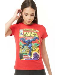 Forever 21 - Black Panther Graphic Tee - Lyst