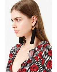 Forever 21 - Women's Fringe Duster Earrings - Lyst