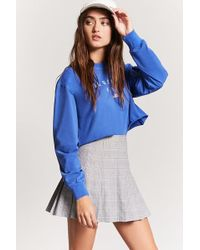 Forever 21 - Plaid Pleated Skirt - Lyst