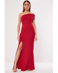 Missguided - One-shoulder Gown At - Lyst