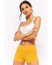 Forever 21 - Active Stretch-knit Shorts - Lyst
