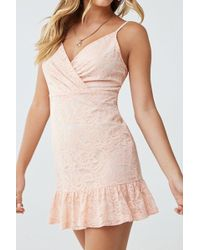 Forever 21 - Lace Cami Dress - Lyst