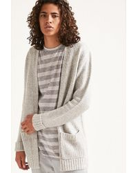 Forever 21 - Patch-pocket Knit Cardigan - Lyst