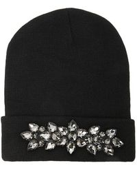 11a84000d39 Forever 21 - Faux Gem-embellished Beanie - Lyst
