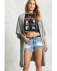 Forever 21 - Women's Contemporary Hooded Cardigan Jumper - Lyst