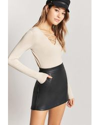 FOREVER21 - Strappy Crop Top - Lyst