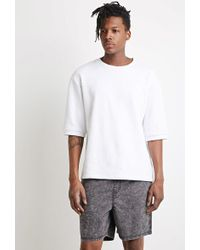 Forever 21 - Bermuda Mineral Wash - Lyst