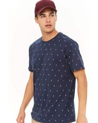 Forever 21 - Anchor Print Tee - Lyst