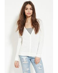 Forever 21 - Classic Cardigan - Lyst