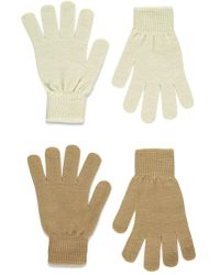 Forever 21 - Classic Knit Gloves - Lyst