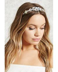 Forever 21 - Iridescent Embellished Headband - Lyst