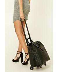 Forever 21 - Rolling Duffle Bag - Lyst