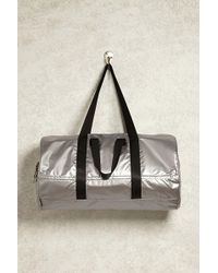 Forever 21 - Active Metallic Duffle Bag - Lyst